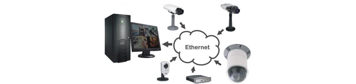 IP видеокамеры и регистраторы