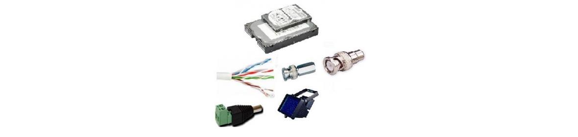 Коннекторы, кабель, жёсткие диски, др. аксессуары